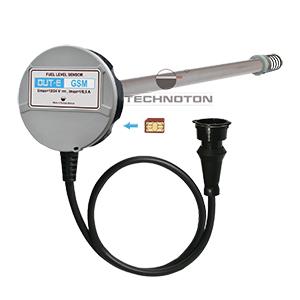 DUT-E GSM fuel level sensor works with SIM card