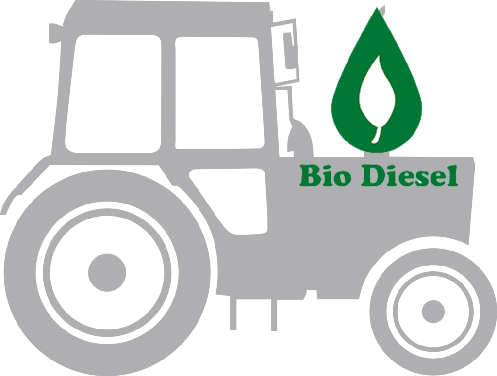 Traktors with biodisel