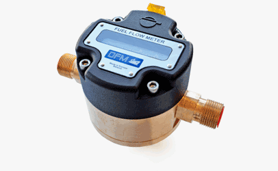 flowmeter fuel from brass
