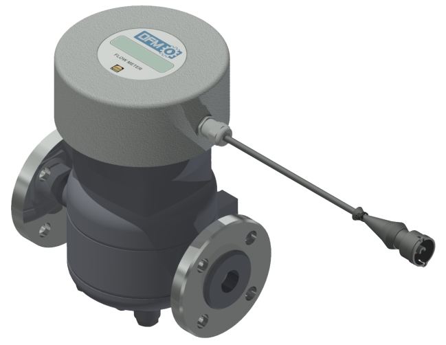 DFM Industrial flow meter