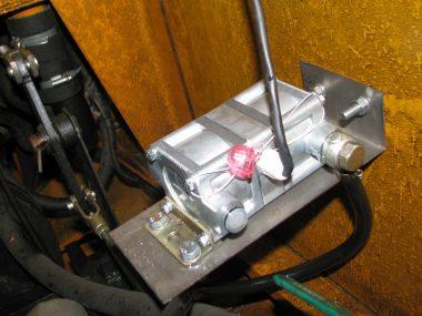 Подключена одна камера дифференциального расходомера топлива DFM