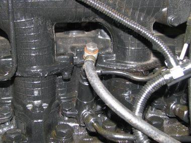 Подключение топливопровода