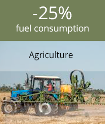 Fuel consumption monitoring in agriculture