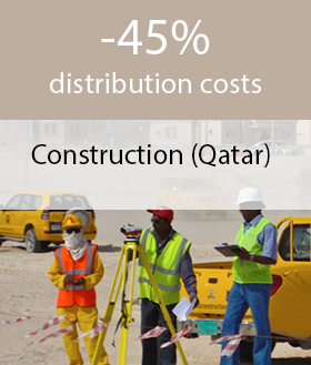 Reducing fuel costs in construction