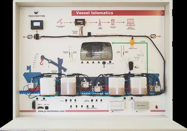 Vessel telematics educational trainer