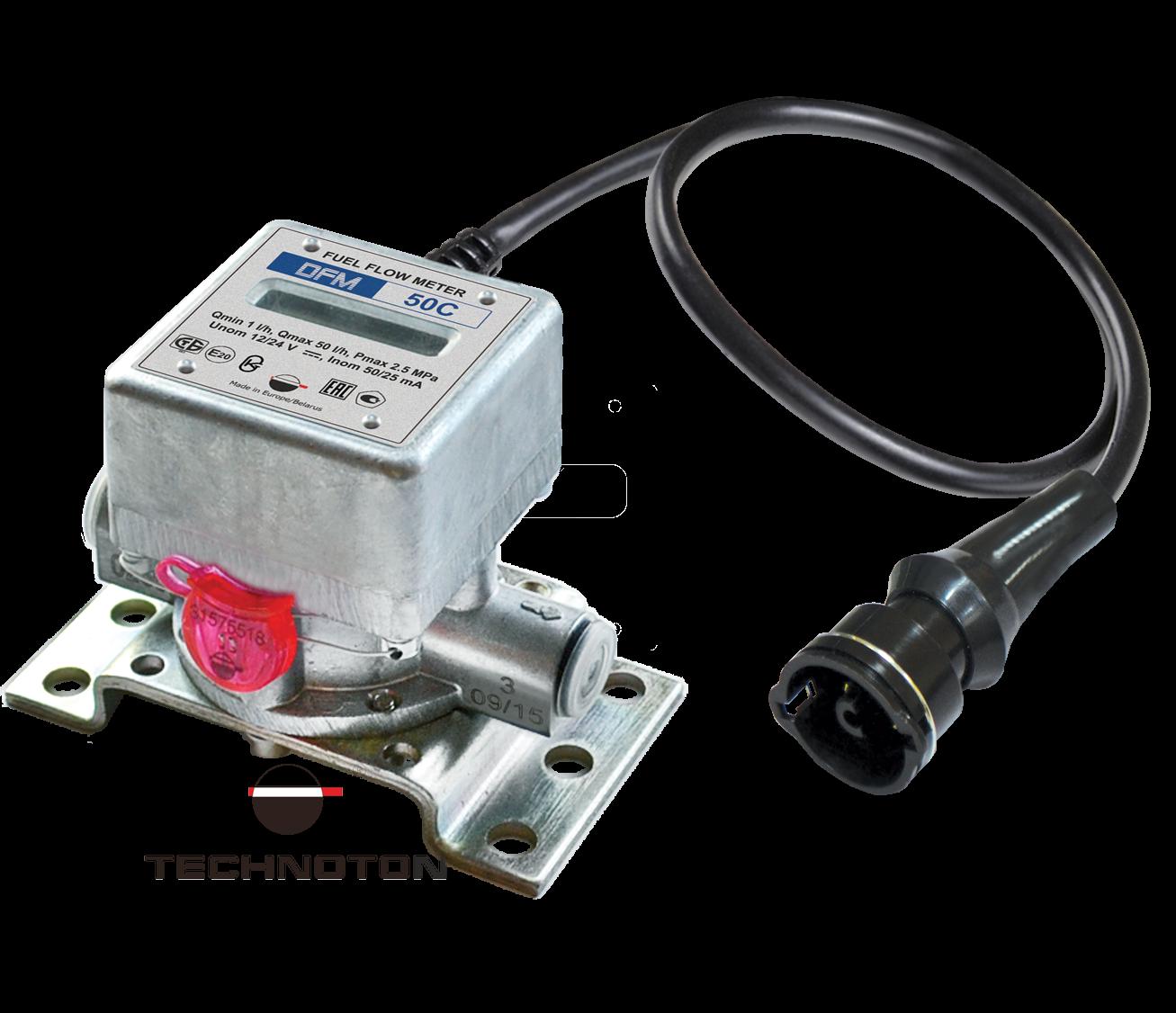 Счетчик-расходомер топлива DFM с дисплеем и кабелем
