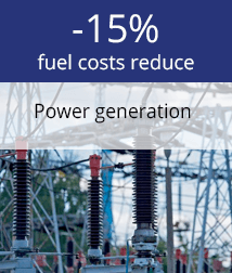 automated fuel supply from storage to gensets