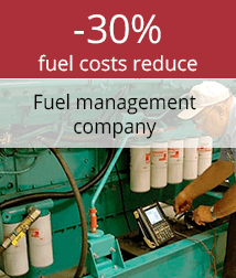 Fuel costs reduce