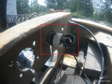 Электрическое подключение кабеля GNOM DP через штатную розетку отцепного прицепа