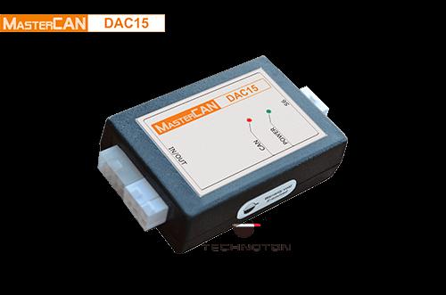 J1939 i/o module MasterCAN DAC