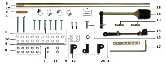 El kit de montaje GNOM MK DP