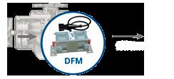 Контроль топлива в магистрали двигателя по DFM