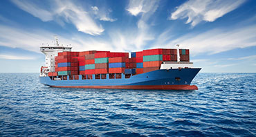 Monitoring of fuel consumption on marine container ships and special vessels