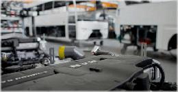 Productor de autobuses. Control del volumen de combustible en el tanque