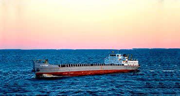 Monitoring of fuel consumption in medium dry cargo vessels