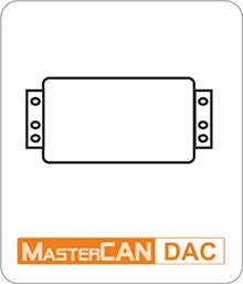MasterCAN DAC converter