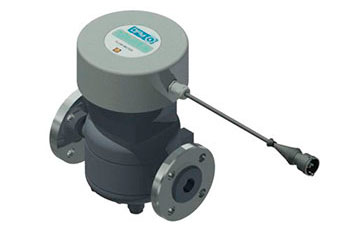 flow meter DFM Industrial 7 K F DFM Industrial 7 CAN F with flange connection