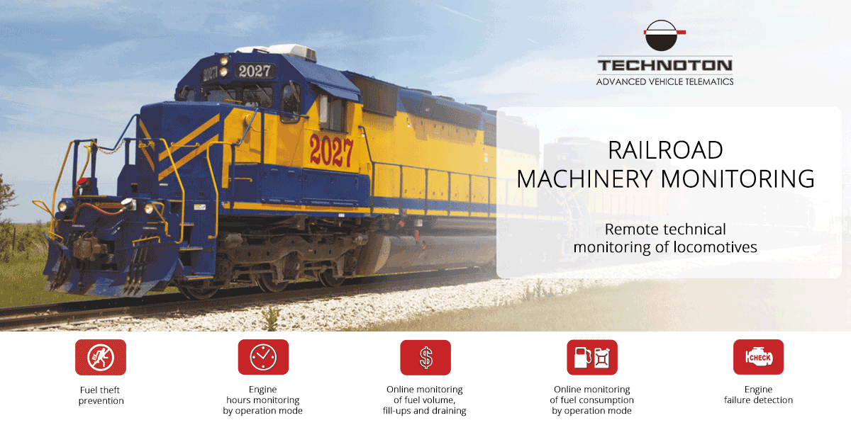RAILROAD MACHINERY MONITORING