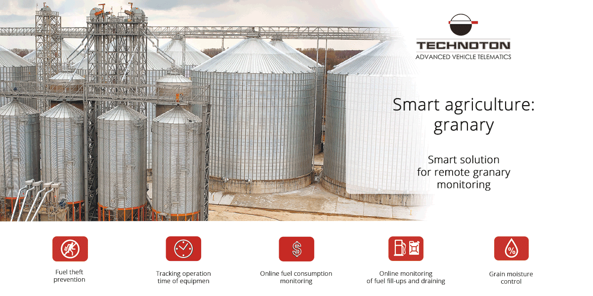 Smart agriculture: granary