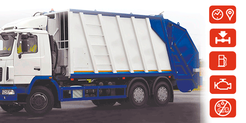 garbage truck monitoring