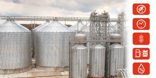 Мониторинг зерносушилок