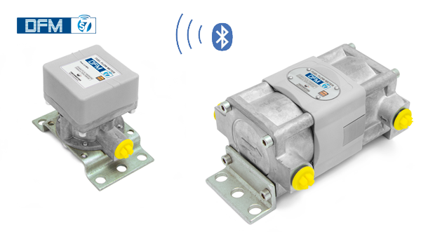 Wireless fuel flow meter