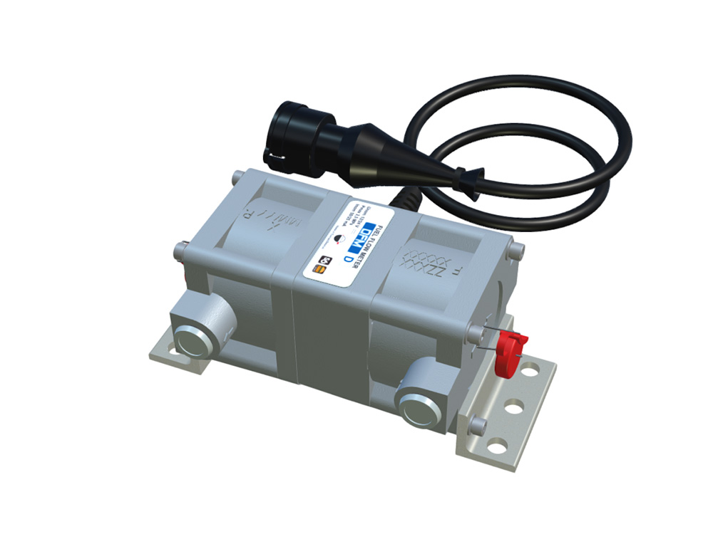 Differential flow meter