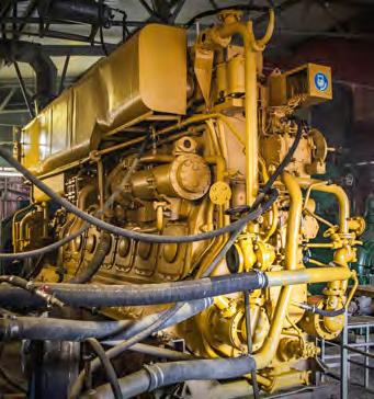 Vessel's diesel engine NVD48