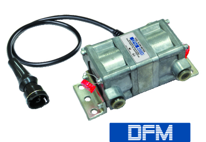 Fuel consumption sensor in the fuel consumption monitoring track machines with diesel engines
