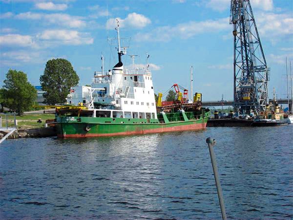 Ventspils ships