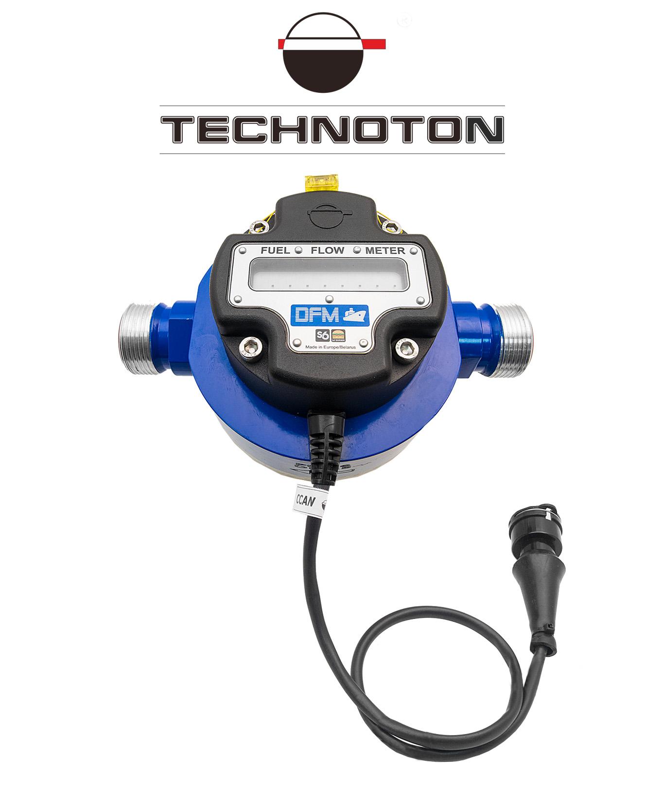 Marine fuel flow meter