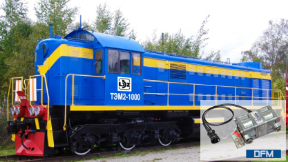 Fuel consumption monitoring track machines