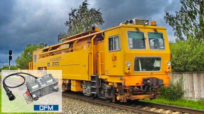 Fuel consumption monitoring shunting diesel locomotives