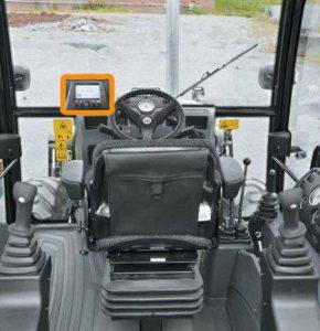 Dash mounted CAN bus display