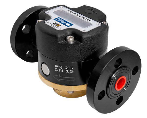 Medidor de flujo de combustible DFM Marine