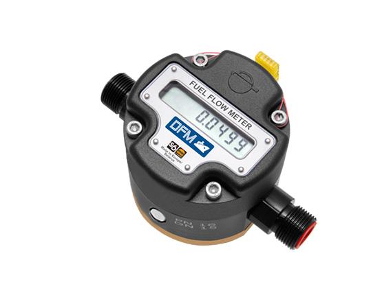medidor de flujo de combustible autónomo