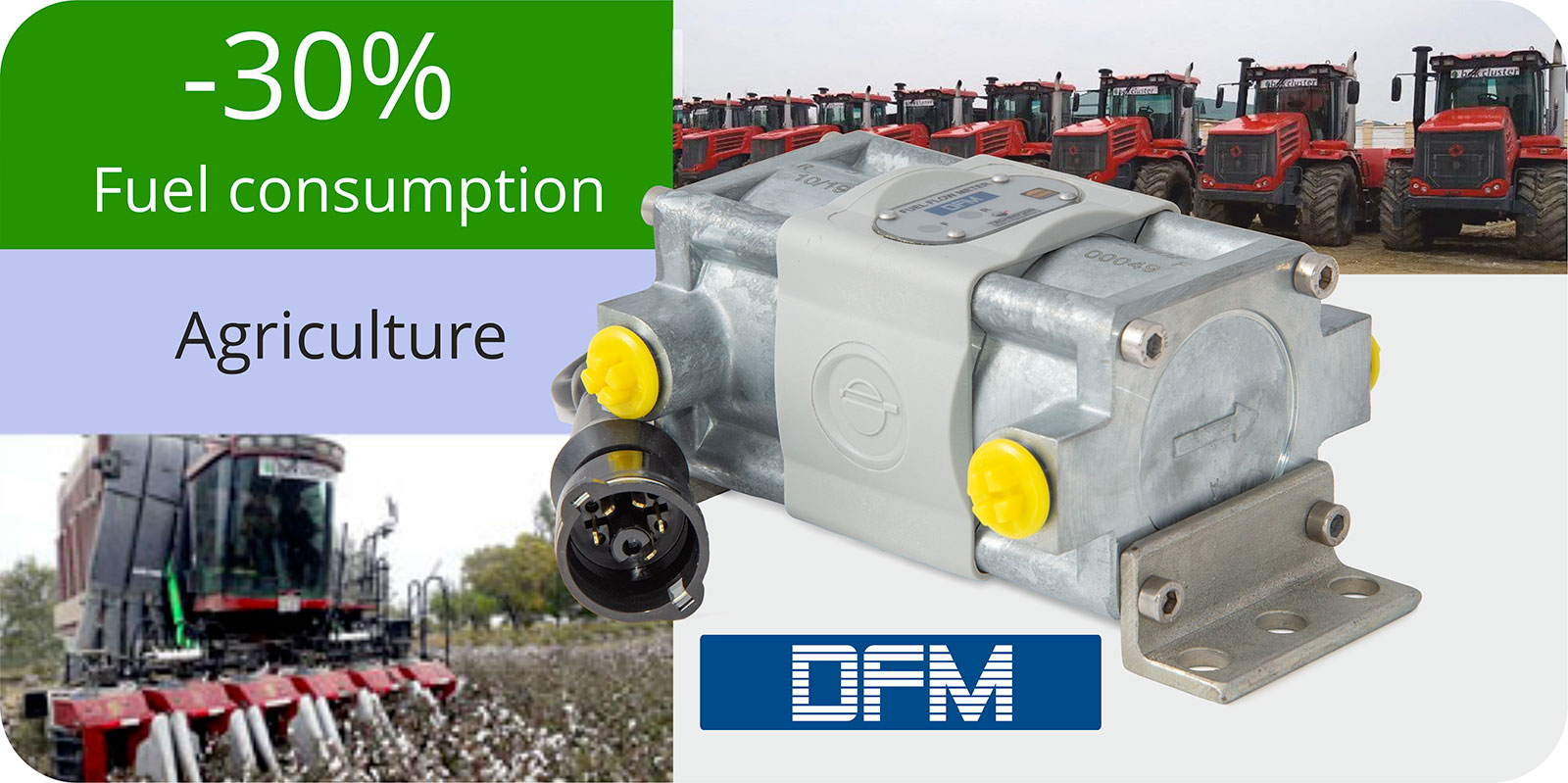 fuel consumption monitoring of agricultural vehicles