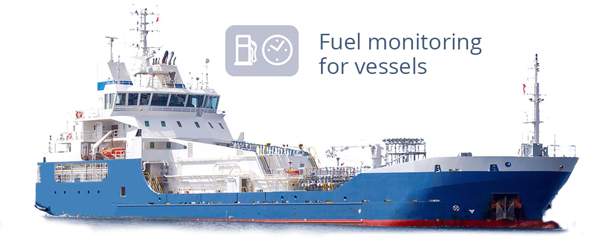 Fuel monitoring for vessels