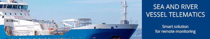 Sea and river vessel telematics